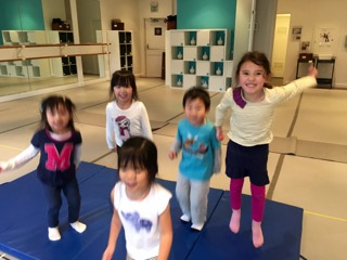 Shake, roll and tumble in this new class especially designed to engage children